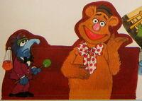 Hallmark 1978 muppet show centerpiece party supplies 5b