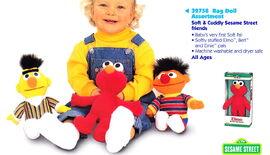 Tyco 1998 rag dolls
