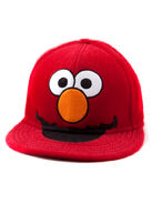 Elmo furry flatbill