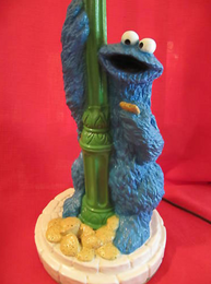 70s cookie monster lamp a