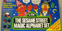 The Sesame Street Magic Alphabet Set