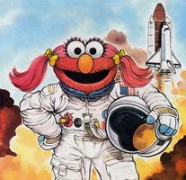 Daisy-astronaut