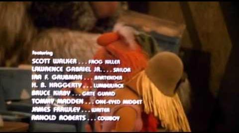 The Muppet Movie credits alternate audio