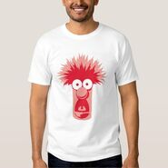 Zazzle beaker head shirt