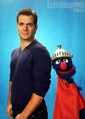 Henry Cavill and Super Grover