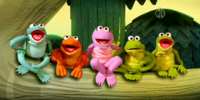 The Friendly Froggies Five