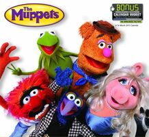 The Muppets 2013 Calendar