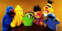 Sesame Street puppets (CBS Toys)