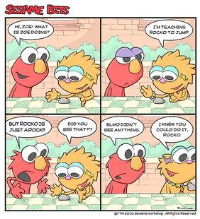 Sesame bits rocko