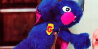 Super Grover plush