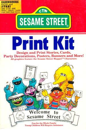 Hi tech 1988 sesame print kit 1