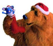 Bear-Santa