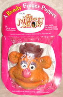 Bendy toys uk 1977 fozzie finger puppet 1