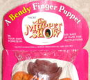 Muppet Show finger puppets (Bendy Toys)