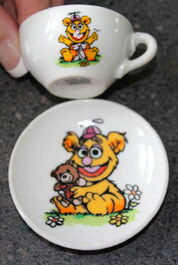 Enesco 1983 muppet babies tea set 7