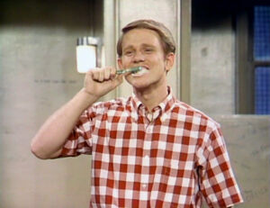 Ron Howard as Richie Cunningham on Sesame Street
