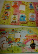 Rua sesamo sticker book page