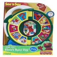 Fisher price elmo's busy day see 'n say