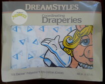 Dreamstyles 1990 dacron muppet draperies 1