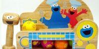 Sesame Street wooden toys