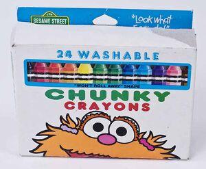 Toys - Sesame Street - Chunky Crayons