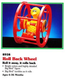 Tyco 1993 roll back wheel