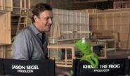Kermit director chair sing to Amy Adams