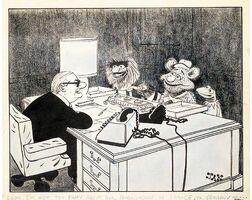 JAK cartoon 1977
