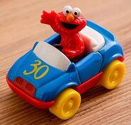 Tyco 1997 elmo die-cast car 30 years