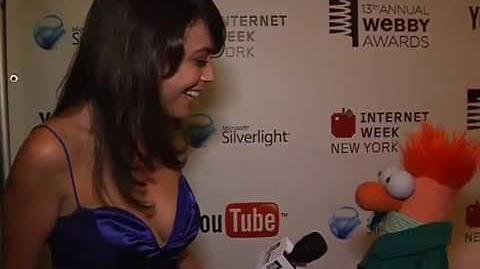 Beaker Interview on the Red Carpet at the 13th Annual Webby Awards