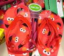 Sesame Street flip-flops (Children's Apparel Network)