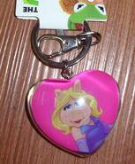 Hanover accessories piggy heart keychain