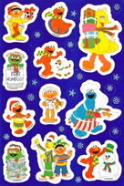 American greetings christmas sesame stickers