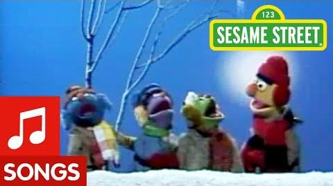 Sesame Street Bert is All Dressed Up for Winter