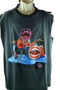 Touch tone interactive animal drums shirt 1997 3