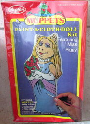 Avalon paint-a-cloth doll kit 2
