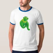 Zazzle 2 kermit leaning shirt