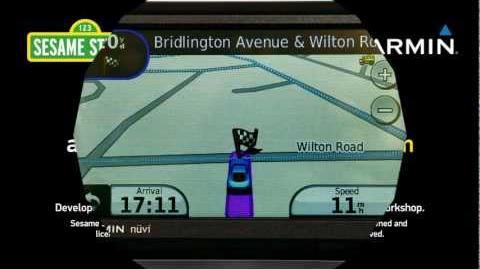 Bert and Ernie recording for Garmin GPS - Demo