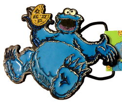 Belt buckle cookie monster 2012