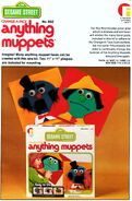 Friends industries 1976 catalog change-a-face anything muppets