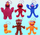 Sesame Street phone mascots (Takara Tomy)