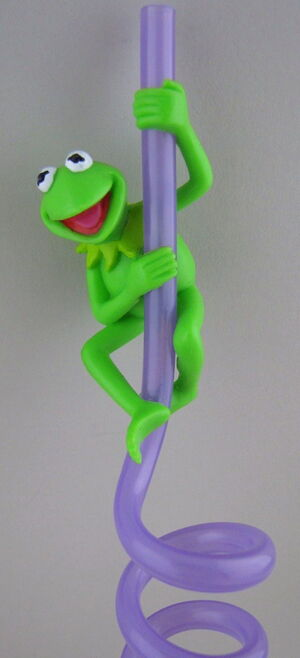 Applause crazy straw kermit