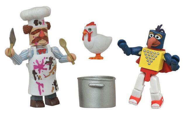 File:Stunt-Show-Gonzo-and-Batter-Damaged-Swedish-Chef-Muppets-Minimates.jpg