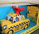 Elmo radio-controlled taxi