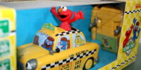 Elmo radio-controlled taxi