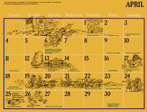 1976 sesame calendar 04 april 2