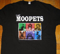 The Moopets t-shirt production gift