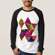 Zazzle animal triangle pattern shirt