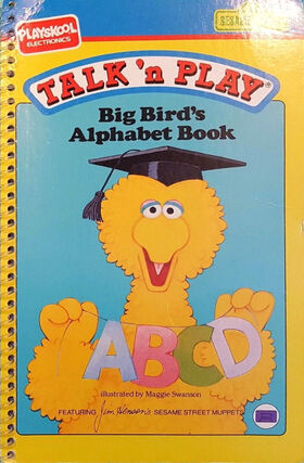 Talk n play playskool books 1 alphabet book