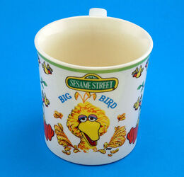 Gorham 1977 big bird mug 2